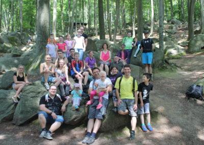 Kletteraktion im Felsenmeer 09. Juli 2016
