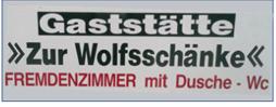 Gaststätte Zur Wolfsschänke