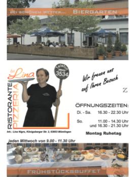 Pizzeria bei Lina