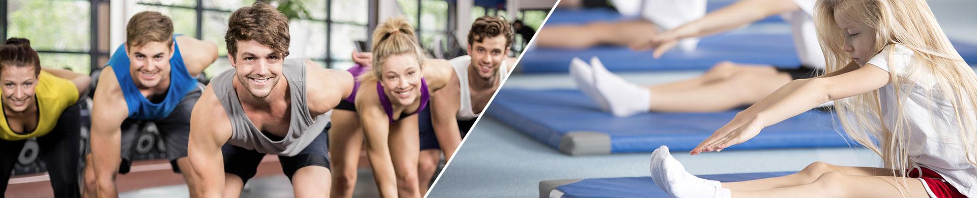 Turnen und Fitness